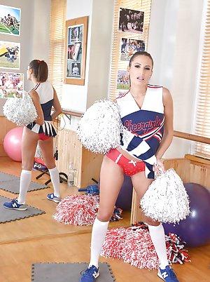 Cheerleader Ass Porn